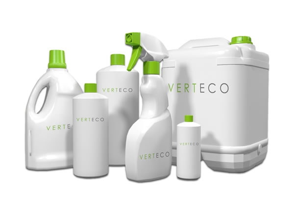Verteco cleaning products for water saving urinals